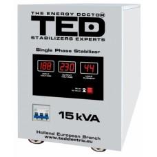 Stabilizator retea monofazat 220V la maxim 15000VA TED Olanda