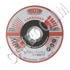 Discuri abrazive profesionale pentru debitare 125x2.5x22.2