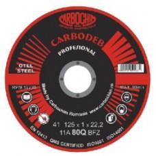 Discuri abrazive profesionale pentru debitare 125x1,5x22.2