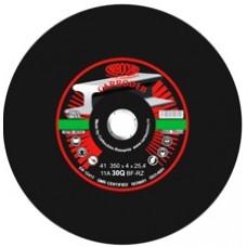 Discuri abrazive profesionale cu zirconiu pentru debitare cale ferata  350x3.5x25.4