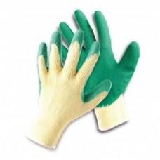 Mănuși cu peliculă din latex HS-04-002 Dipper LIGHT, verzi, blister