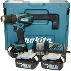 Masina de gaurit/insurubat cu acumulatori Makita BDF456RFJ