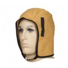Căciulă din bumbac fleecy de mască pentru vreme rece, cu partea exterioară din bumbac ignifug