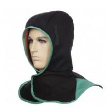 Glugă ignifugă neagră pentru vreme rece cu căptușeală COMFOflex®